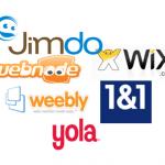 Logo von Anbietern von Homepage-Baukästen