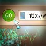 website url Bild