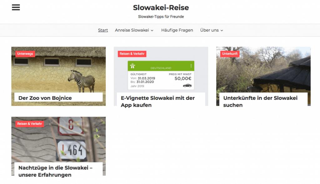 Startseite slowakei-reise.de
